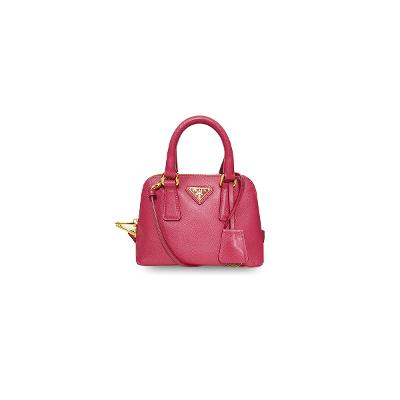 saffiano mini cross bag pink