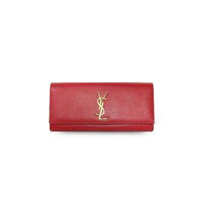 cassandre monogram clutch red
