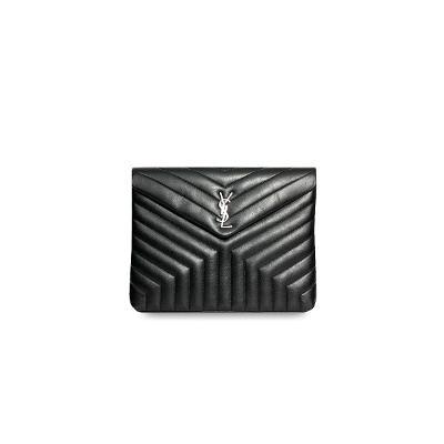 chevron clutch black