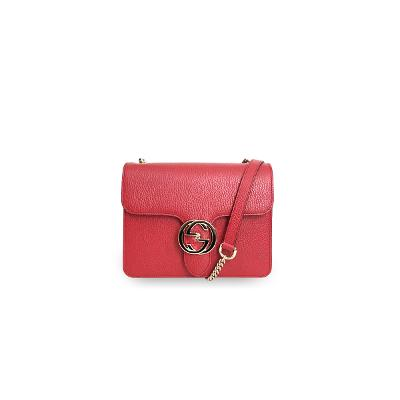 mamont chain cross bag red