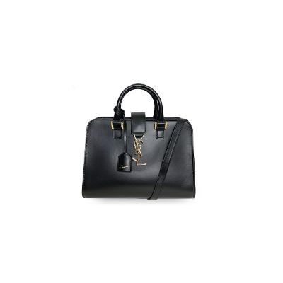 cabas monogramtote bag black