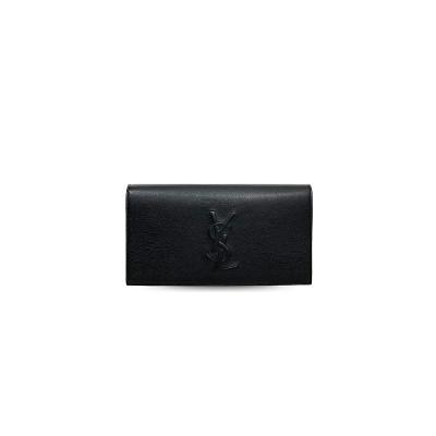 monogram clutch black 3