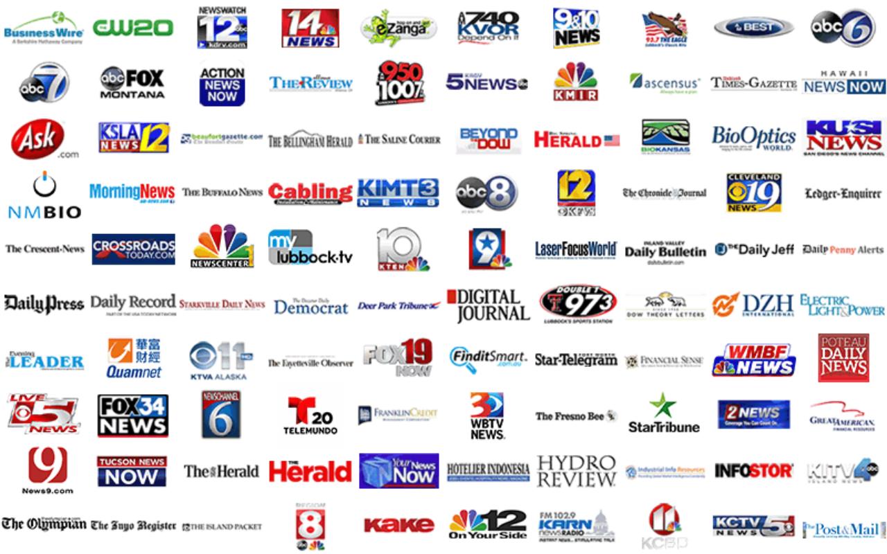 보도 언론 매체 로고 리스트