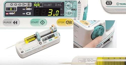 日本테루모社의 Syringe Pump