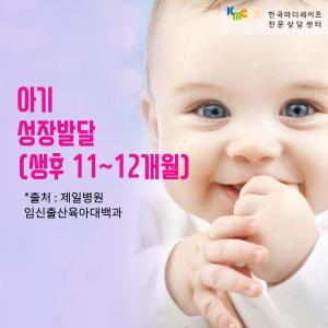 아기 성장 발달 (11~12개월)