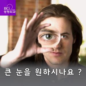 큰 눈을 원하시나요 ?