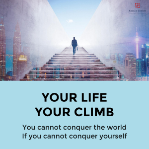YOUR LIFE YOUR CLIMB
