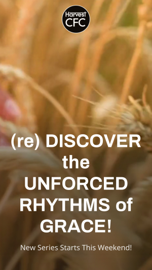 (re) DISCOVER the UNFORCED RHYTHMS of GRACE!