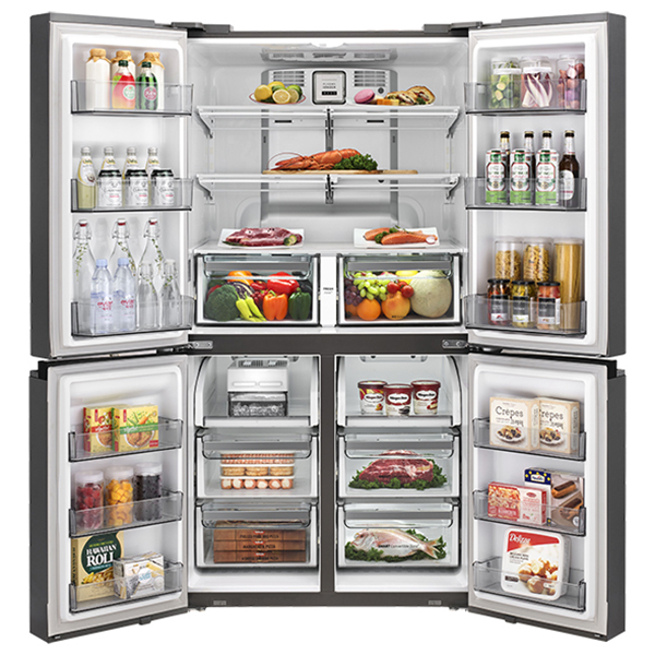 [위니아] 프라우드 냉장고 와이드형 895L 메탈실버