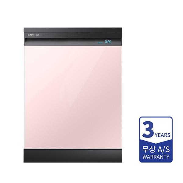 [삼성] 비스포크 식기세척기 빌트인 12인용 글램 핑크