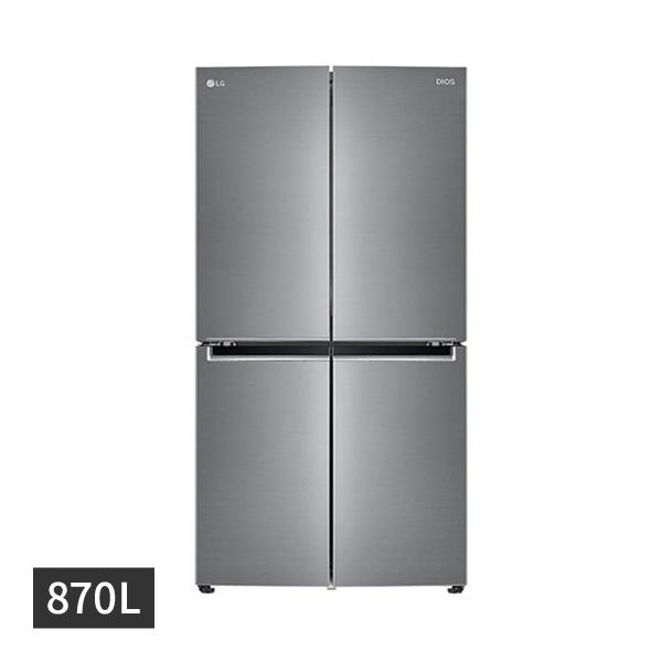 [LG] 디오스 양문형 냉장고 870L 퓨어