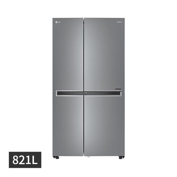 [LG] 디오스 매직스페이스 양문형 냉장고 821L 샤이니퓨어