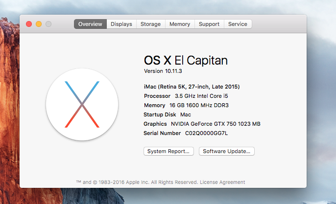 [Success] Install OSX EI Capitan on Skylake