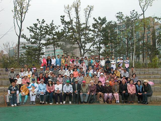 2004야외예배-영마루공원