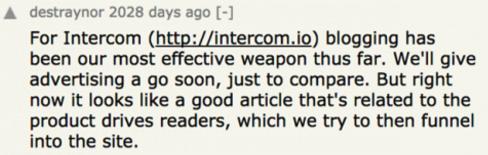 intercom-traynor-blogging